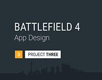 Battlefield 4 | App Design