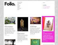 Folio Web Redesign