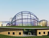 Botanical Garden Wellesley College (Revit/Photoshop)