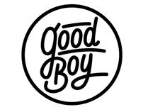 GOOD BOY / Logo & Character for Gun Shop