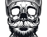Skull illustrations Vol. 1