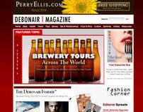 Debonair Magazine Complete Brand Identity