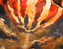 Last mission / Последняя миссия. Oil / canvas, 50x