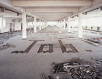 Large Type in Abandoned Spaces