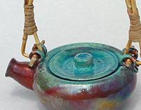 Raku - Low Fire Ceramics | Professor Paul Jay