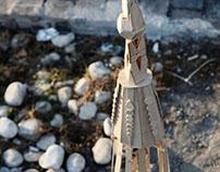 La Sagrada Familia ( handmade model )
