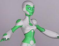 Professional Works: Green Lantern Animated Series. WB.