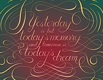 Yesterday/Today