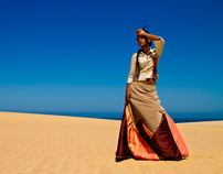 Namibia's Next Top Model Photoshoot