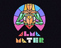 Alma Mater. Concert club logo
