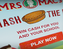 Mrs Mac's Smash The Pie Banner