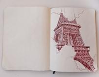 Europe Sketchbook