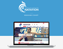 FNN - French Swimming League - redesigned Concept