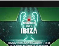 Heineken UEFA iPad application