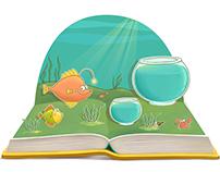 Illustrations for the children game