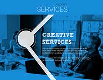Creative Luggage website