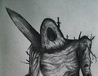 Dark Souls 2 Fan Art The Last Giant