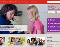 Epilepsy Foundation Website