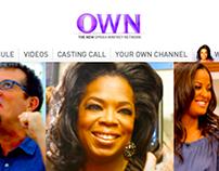 Oprah Winfrey Network Website
