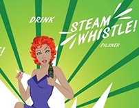 Steam Whistle Beer Poster
