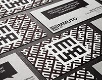 Immuto logo and business cards
