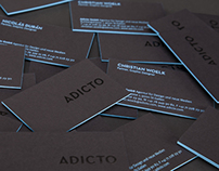 Adicto // Business Cards