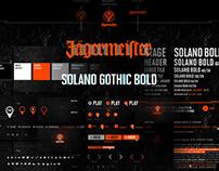 Jägermeister Relaunch & Global Digital Styleguide