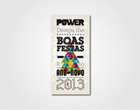 CHRISTMAS CARD POWER CDW
