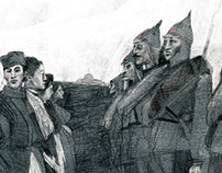 Illustration for Snob mag 04'13