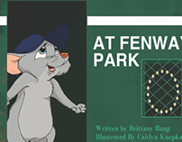 Little Mouse At Fenway Park - Childrens Book