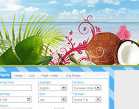 Tropical Travel Site