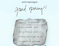 Anthropologie Store Opening