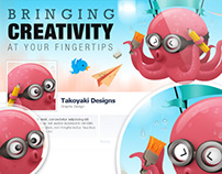 Takoyaki Mascot Cover Photo
