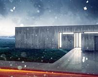 Concrete house visuals