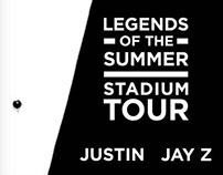 Livenation - JT and Jay Z