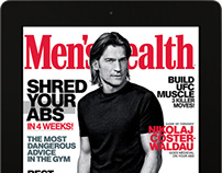 Men's Health iPad