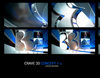 Crave 33 News Rebrand