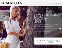 D'Maglia - Website