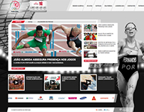Missão Olímpica de Portugal 2012 - Web Site