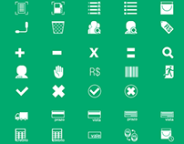 Interface and icons design for SGA Petro