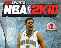 NBA 2K10 Cover