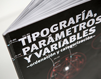 Typography, parameters and variables