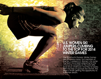 US Women Ski Jumpers