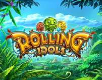 Rolling Idols - game promo web site