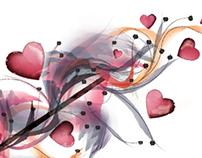Valentine's Day Loyalty Program Card
