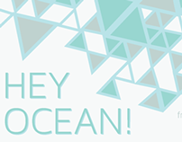 Hey Ocean! Band poster