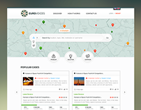 Euro Voices - Branding + Website Ui / Ux