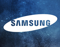 Samsung Galaxy Note II Ad Panel - KLCC