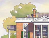 Millfield Jeffersonian House Rendering