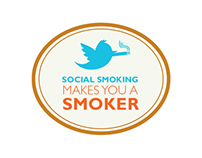 Social Smoking Awareness Advertising